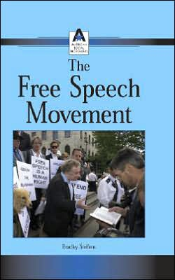 Cover of The Free Speech Movement by Bradley Steffens