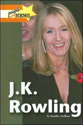 Cover of J.K. Rowling by Bradley Steffens won the 2007 San Diego Book Award for Best Young Adult & Children's Nonfiction and the Theodor S. Geisel Award for Best Book by a San Diego County author